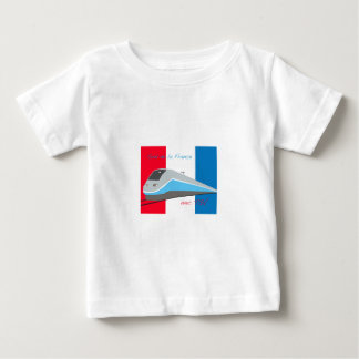 High Speed Rail Travel Baby T-Shirt