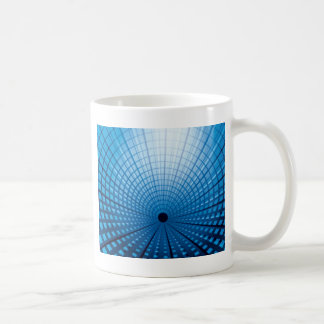 High-Speed Rail Tunnel Classic White Coffee Mug