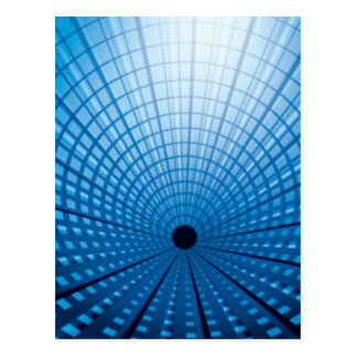 High-Speed Rail Tunnel Postcard