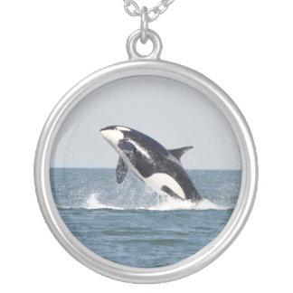 High Spirits Breaching Orca Necklace