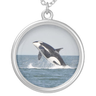 High Spirits Breaching Orca Necklace