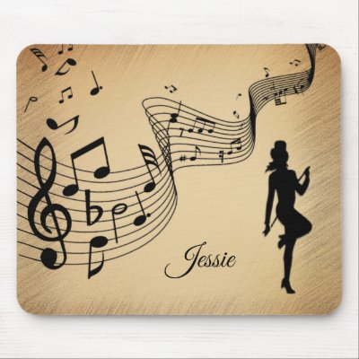 High Step Dancing to the Music Custom Mouse Pad
