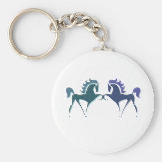 High Stepping Horse Logo Keychain