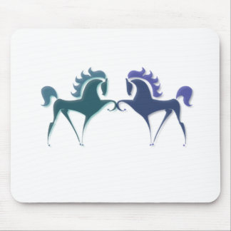 High Stepping Horse Logo Mouse Pad