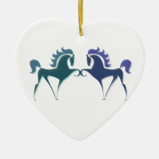 High Stepping Horse Ornament