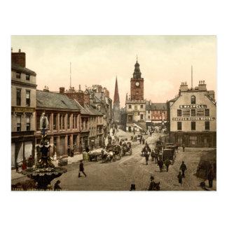 High Street, Dumfries, Scotland Postcard