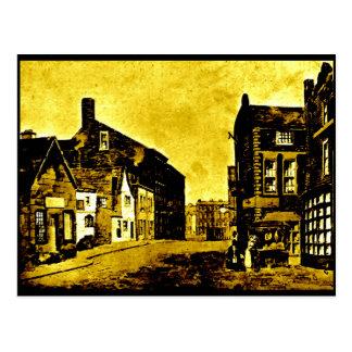 High Street - East Side, Liverpool, 1797 Postcard