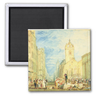 High Street, Edinburgh, c.1818 (w/c, pen, ink, gra Magnet