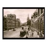 High Street, Oxford Vintage Post Card