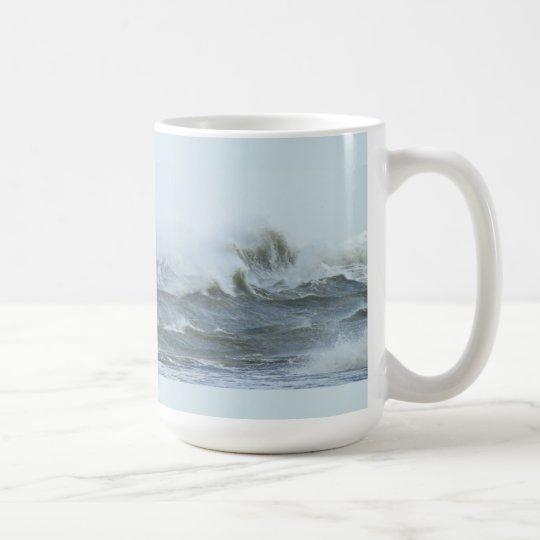 High Surf - Outer Banks North Carolina Coffee Mug