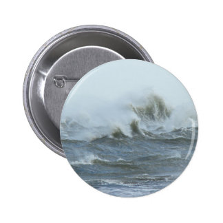 High Surf - Outer Banks North Carolina Pinback Button