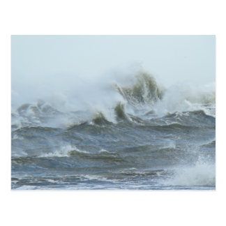 High Surf - Outer Banks North Carolina Postcard