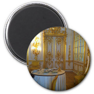 High Tea at the Hermitage 2 Inch Round Magnet