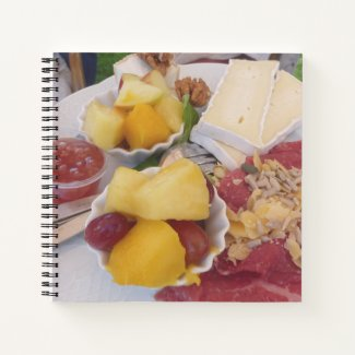 High Tea Food Notebook