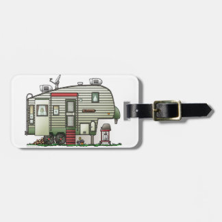 High Tech 5th Wheel Luggage Tag