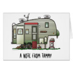 High Tech 5th Wheel Stationery Note Card