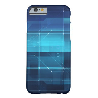 High tech background barely there iPhone 6 case
