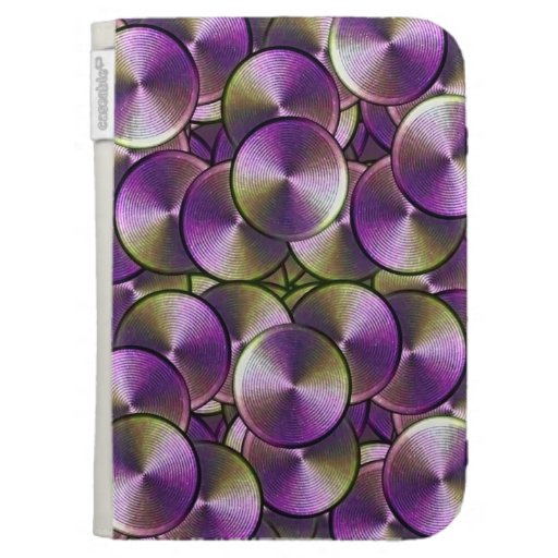 High-Tech Circles  Caseable Case Kindle Covers