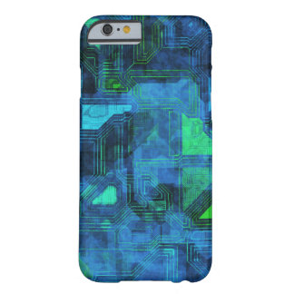 High Tech Circuitry Barely There iPhone 6 Case