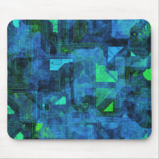 High Tech Circuitry Mouse Pad