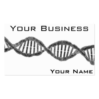 High Tech DNA-Grey Double-Sided Standard Business Cards (Pack Of 100)