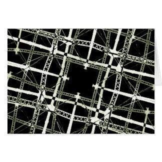 High Tech Grid Card
