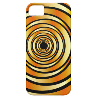 High tech metallic ring background iPhone SE/5/5s case