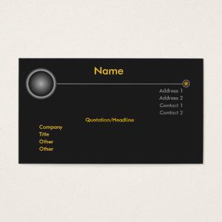 High Tech Nibiru Business Card