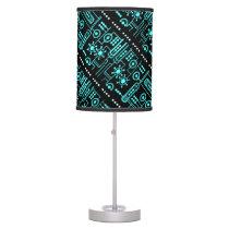 High Tech Pattern Lamp