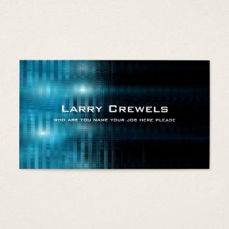 high technology business card