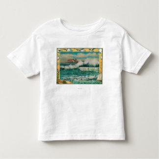 High Tide at Long Beach, California T-shirts
