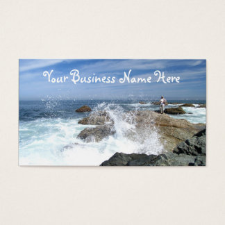 High Tide Fishing Business Card
