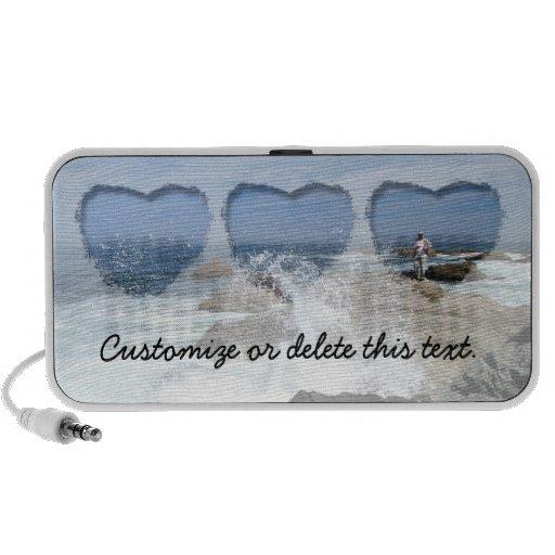 High Tide Fishing; Customizable Laptop Speaker