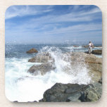 High Tide Fishing Drink Coaster