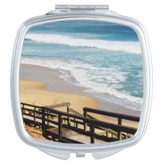 High_Tide, _Ladies_Square_Compact-Mirror. Espejos Maquillaje