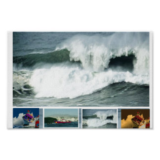 HIGH Tide MAVRICK Waves Posters
