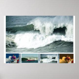 HIGH Tide MAVRICK Waves Poster