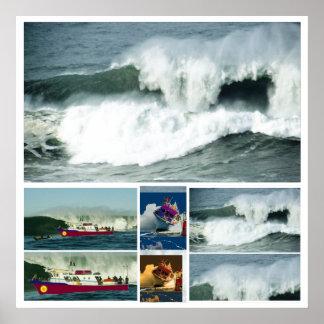 HIGH Tide MAVRICK Waves Print