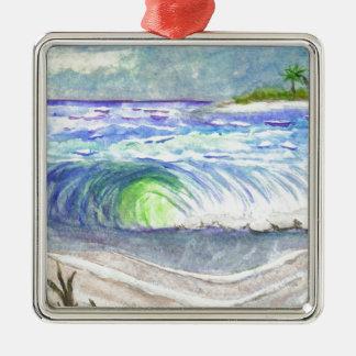 High Tide Metal Ornament