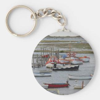 High tide, Morston, Norfolk Keychain