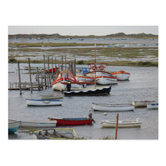 High tide, Morston, Norfolk Postcard