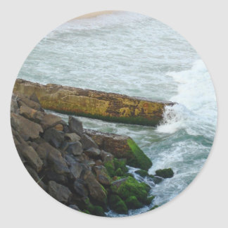 High Tide Small Sticker
