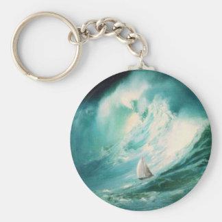 high tides 2 key chain