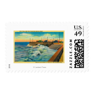 High Tides at PromenadeSeaside, OR Postage