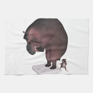 High Time For A Diet Kitchen Towel