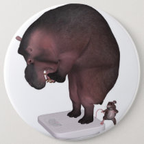 High Time For A Diet Pinback Button
