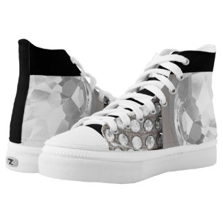 High Top Shoes. Step out of the box in a pair Printed Shoes
