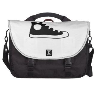 High Top Sneaker Laptop Commuter Bag