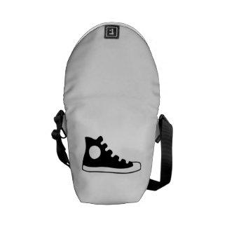 High Top Sneaker Messenger Bag