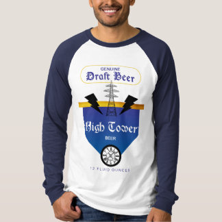 High Tower Beer Label T-Shirt
